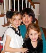 Juliette McGuire and children