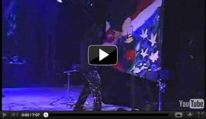Hero performed by Michael Israel in New York