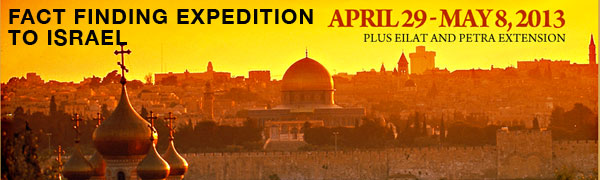 Fact Finding Expedition to Israel