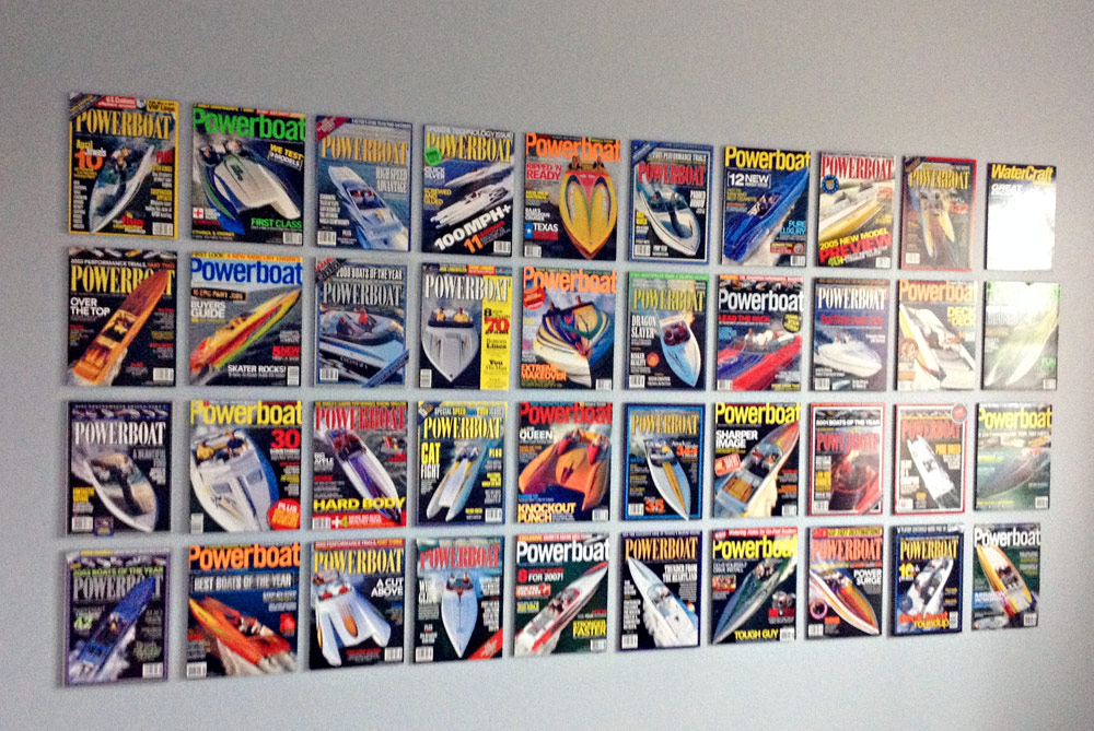 Powerboat Mag-Wall