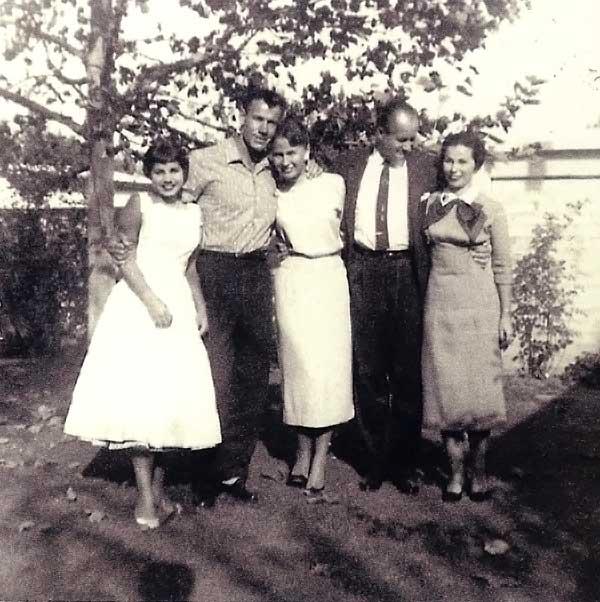 Jerry's sister Carla, Don & Pat Ferrara, Bob & Elinor Nordskog