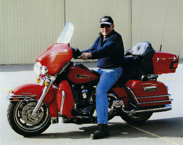 Don Ferrara, Fireman's Edition Harley