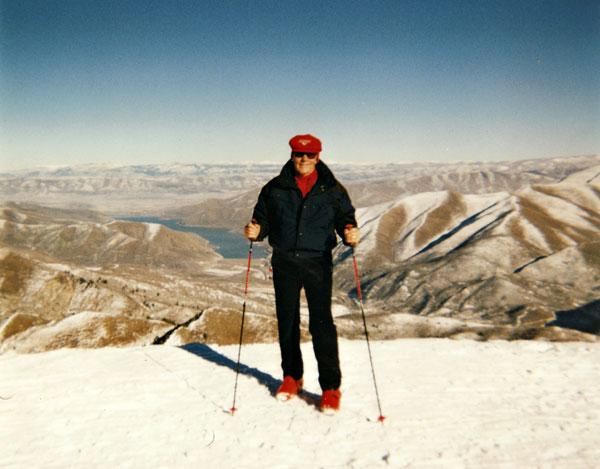Don Ferrara, Snow Skiing in Sundance