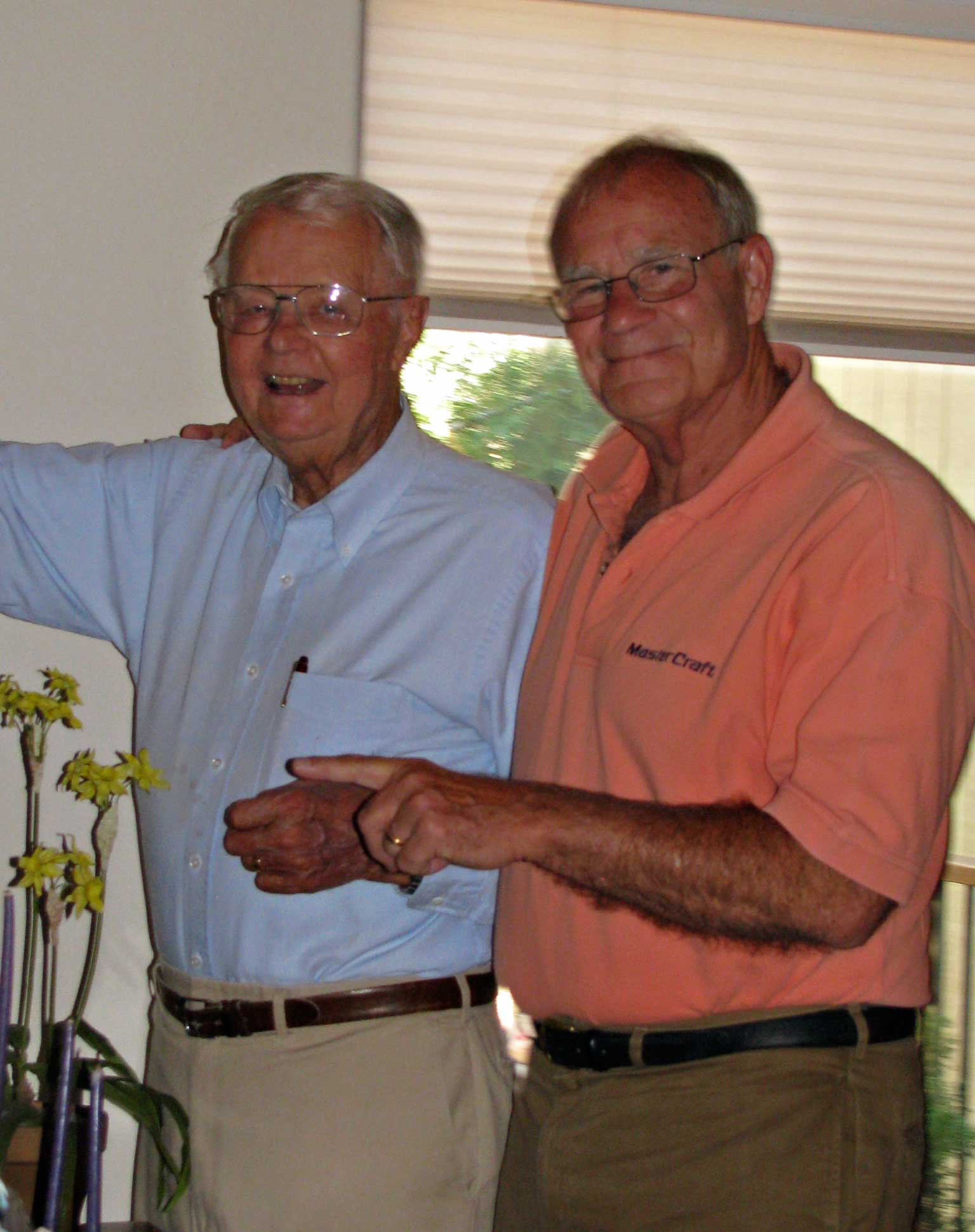 Jerry with Glenn Nordskog