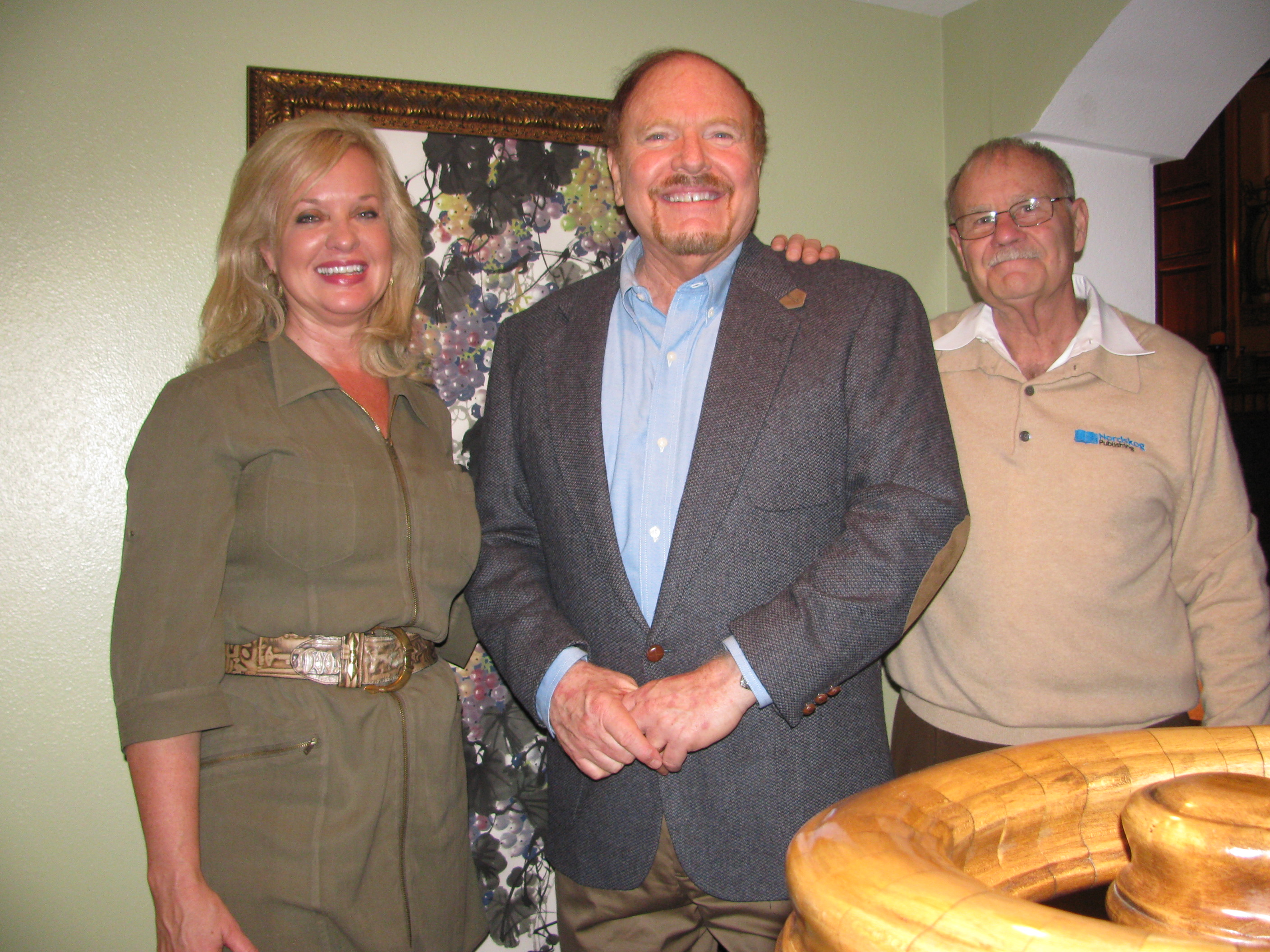 Jerry & Gail with Dr. Marshall Foster