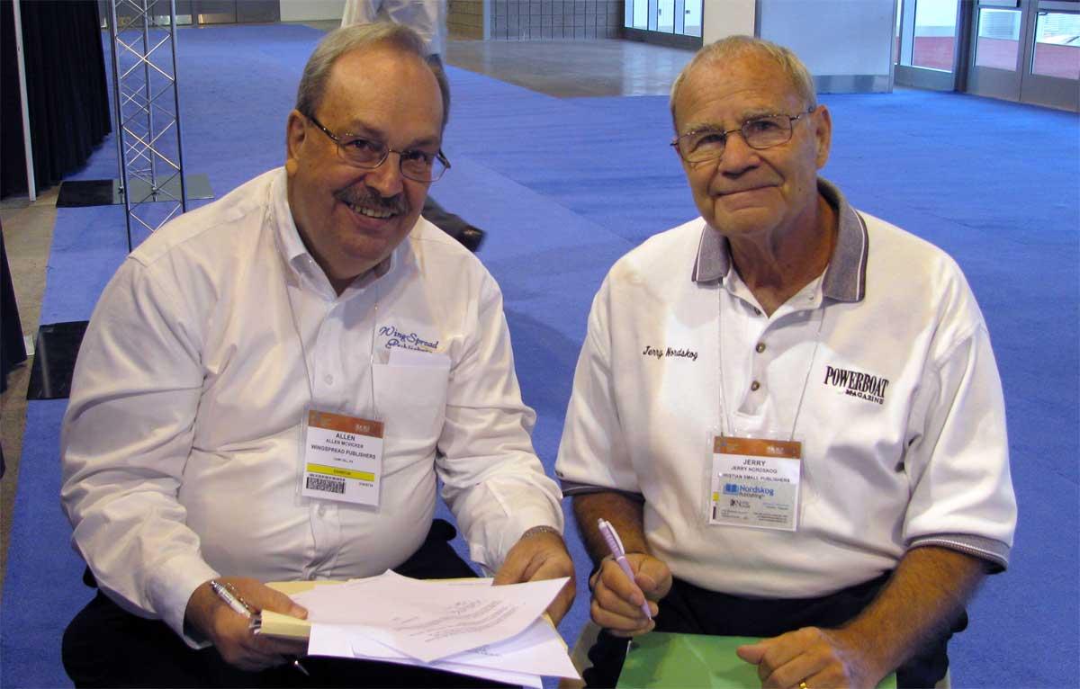 Jerry with Allen McVicker