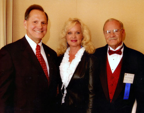 Jerry & Gail with Judge Moore