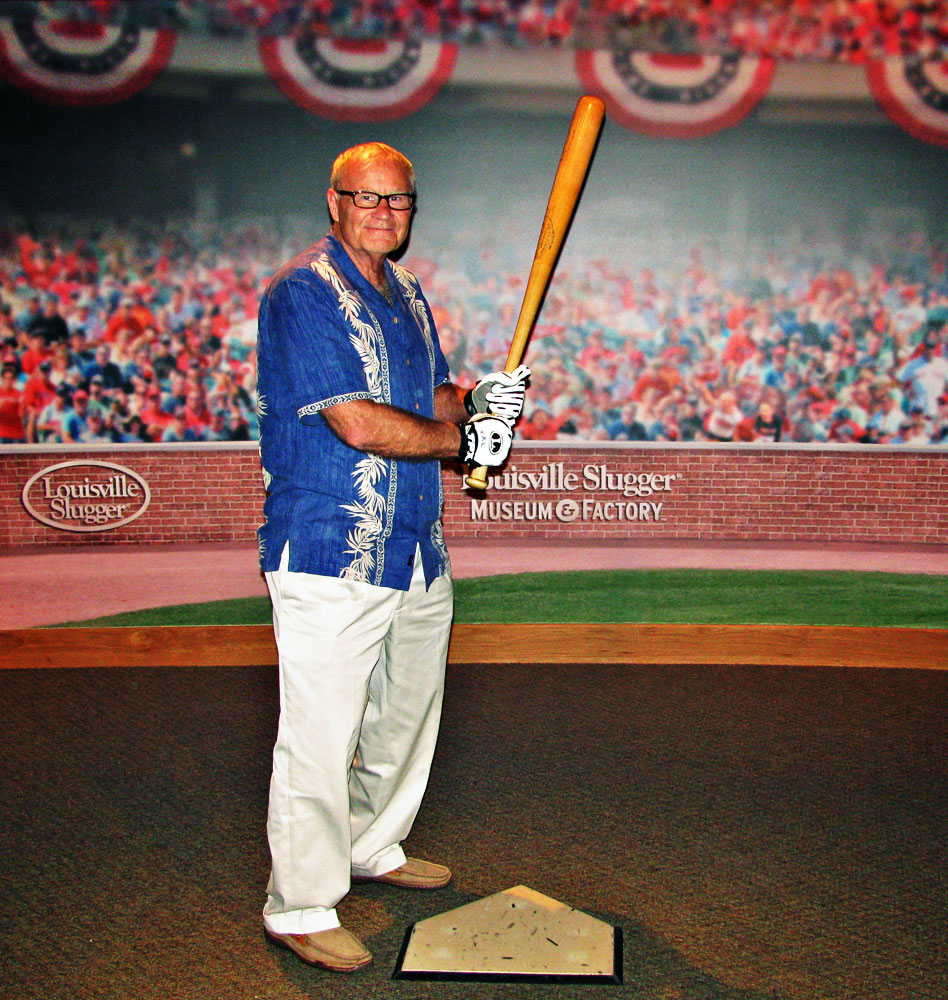 Louisville Slugger baseball bat factory