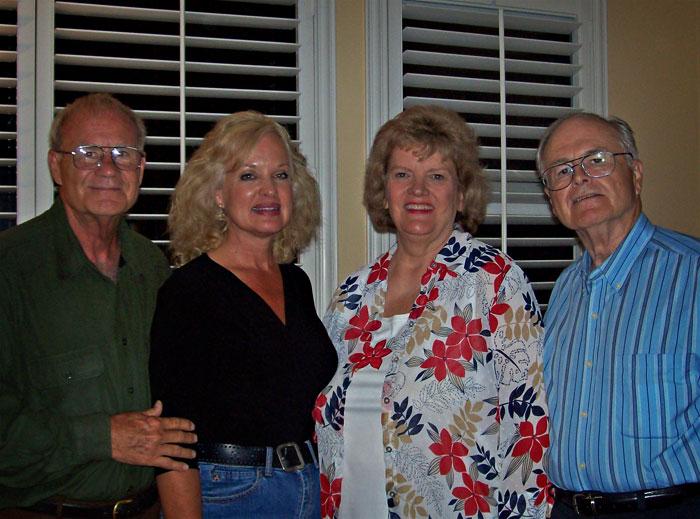 Barbara and Jim Rose at Trinity Home Church