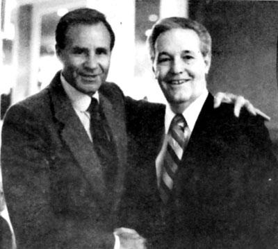 Jerry with Rex Humbard