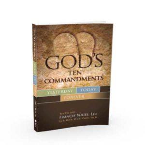 God's Ten Commandments - 3D Cover image