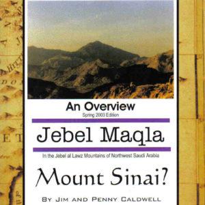 Jebel Maqla - Mount Sinai?